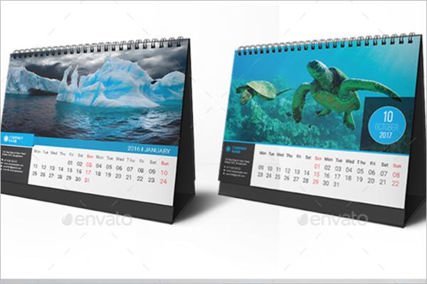 Logistics Calendar Design : Desk calendar mockup templates free psd download