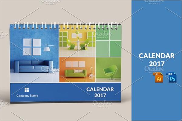 Multipurpose Corporate Office Desk Calendar