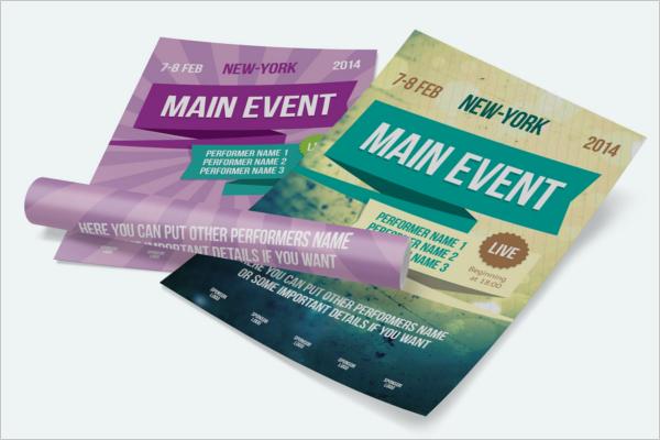 Multipurpose Event Poster Design