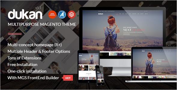 Multipurpose Magento Store Theme