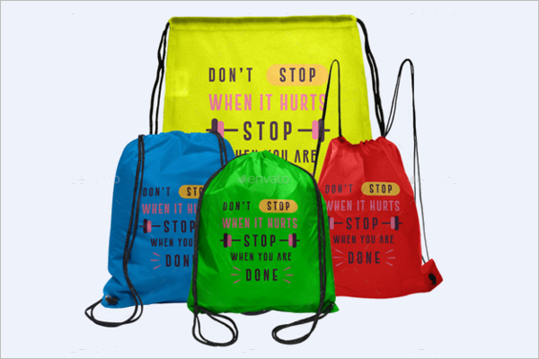 Multipurpose Mockup Bag Template