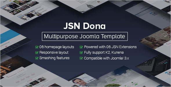Multipurpose Political Joomla Template