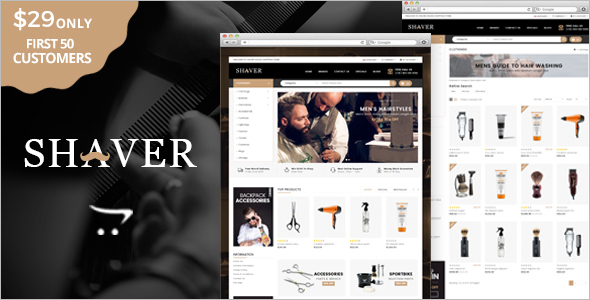 Multipurpose Salon OpenCart Theme