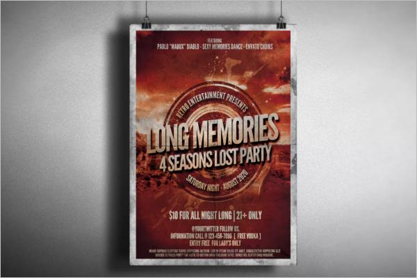 Music Band Poster Design