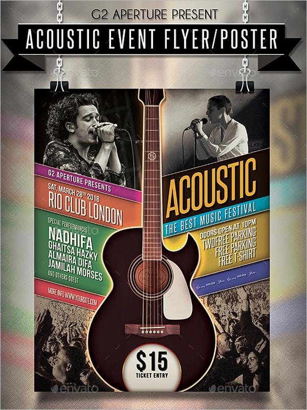 Music Event Poster Design