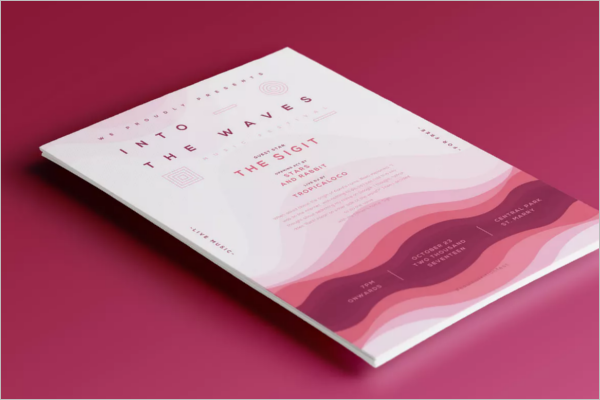 Music Event Poster Template