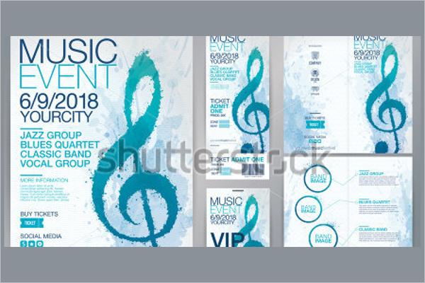 Music Flyer Design Model