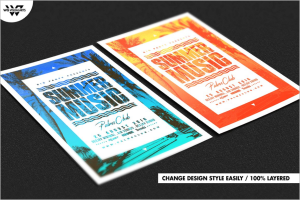 Music Flyer Template