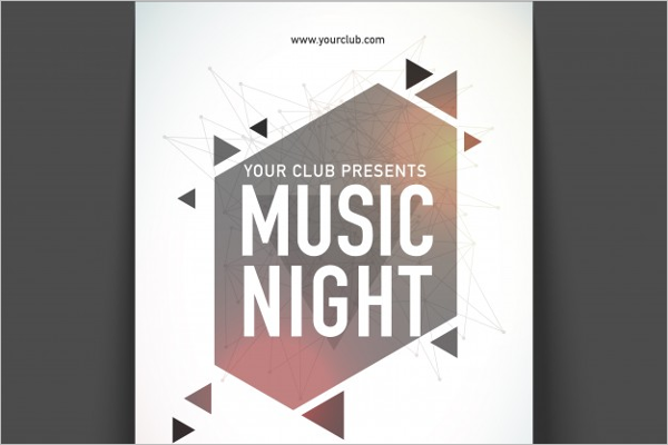 Music Night Poster Template