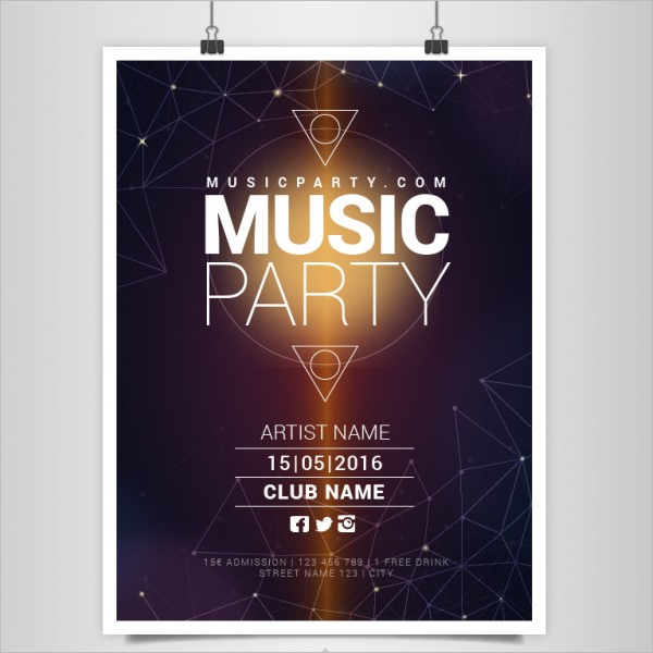 Music Poster Free Download