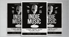 47+ Music Poster Templates