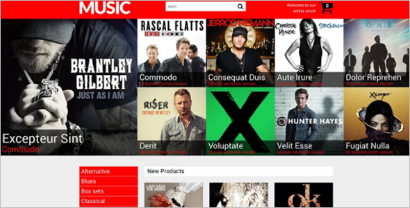 Music Shop Magento Theme