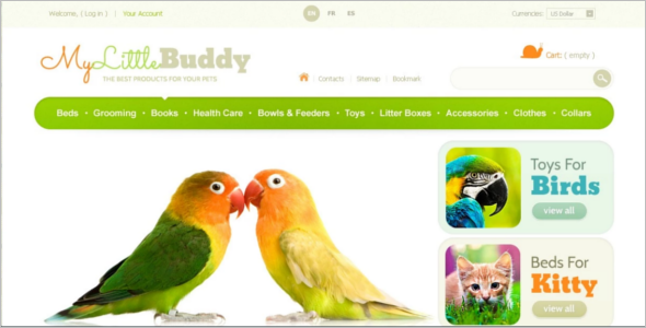My Little Buddy PrestaShop Theme