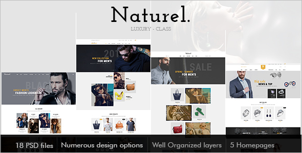 Natural Jewellery Opencart Template