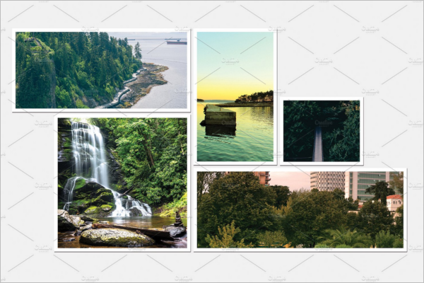 Nature Photo Frame Design