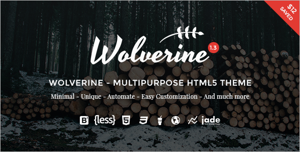 New Parallax Wedding HTML Templat