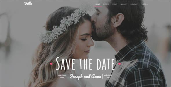 New Wedding Gallery HTML Template