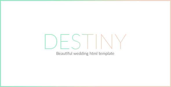 New Wedding Invitation HTML Template