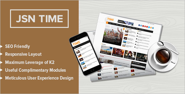 News Template for Joomla