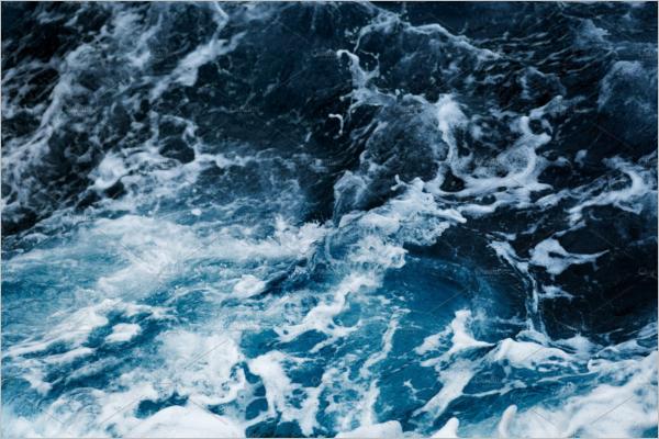 Ocean Waves Background