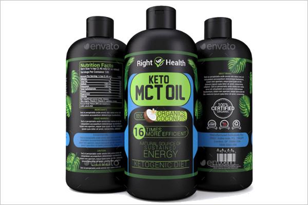 Oil Mockup Bottle