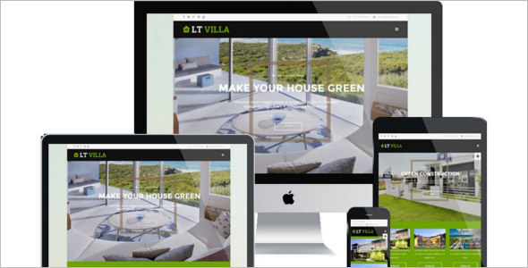 Onepage Environmental Villa Joomla Template