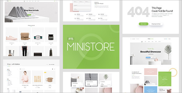 Online Furniture Store OpenCart Template