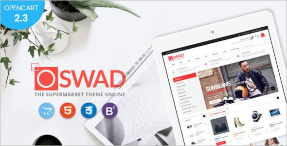 Online Magazine OpenCart Theme