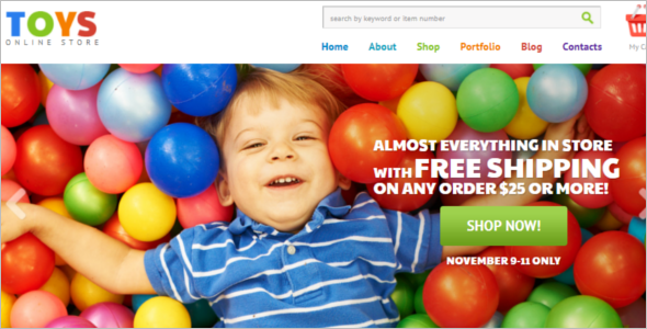 Online Toy Store WooCommerce Theme
