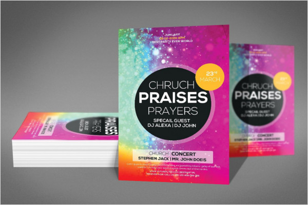 32 Church Flyer Templates Free Word Psd Designs