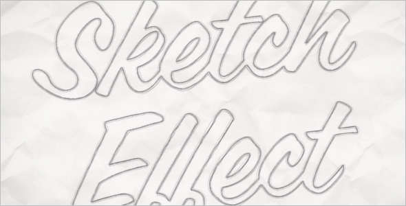 PSD-Sketch-Effect-Template