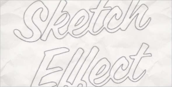 PSD-Sketch-Effect-Template