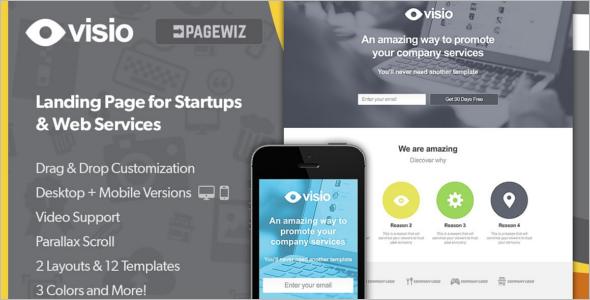 Pagewiz Landing Page Service Template