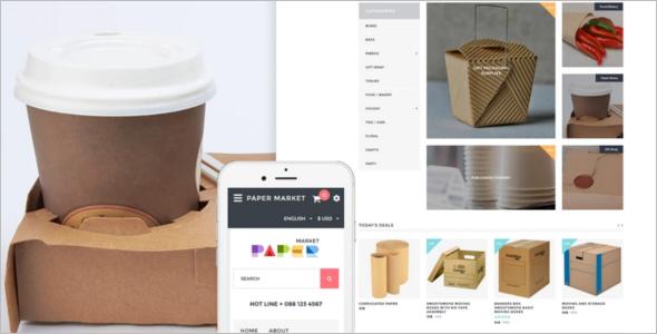 Paper Market OpenCart Template