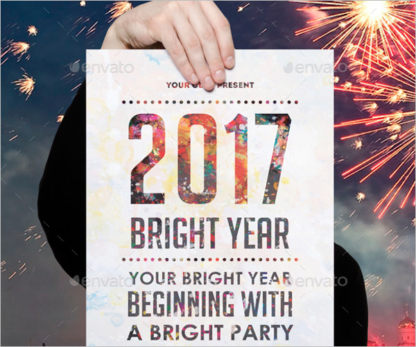 Party Poster Flyer Template