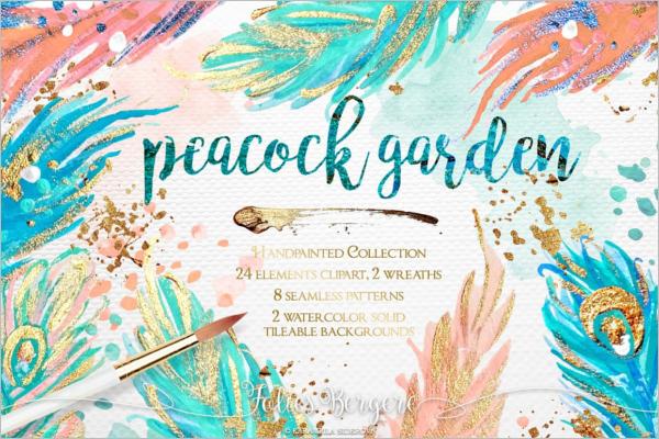 Peacock Garden Patterns