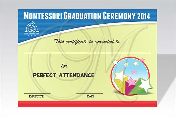 Performance Certificate For Kids