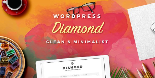 Personal Blog Woocommerce Template