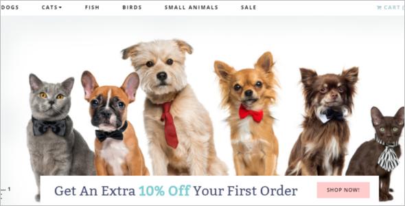 Pet Animal OpenCart Template