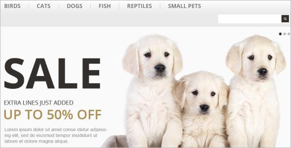 Pet Care OpenCart Template
