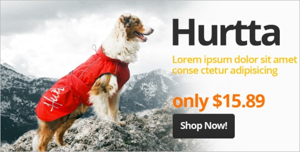 Pet supplies OpenCart Template