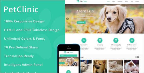 PetClinic Help Desk WordPress Theme