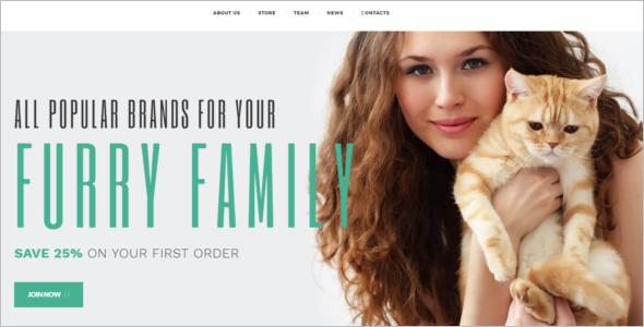 Pets Supplies Shop WooCommerce Theme
