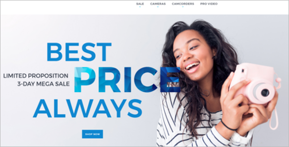 Photo & Video Magento Store Theme