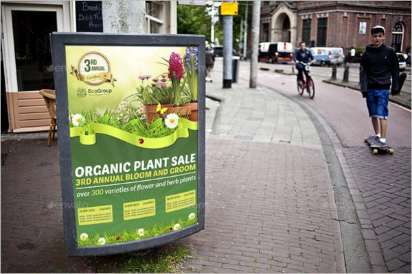 Plant Sale Poster Design