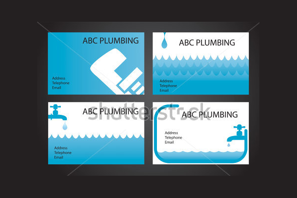 Plumbing Handyman Business Card
