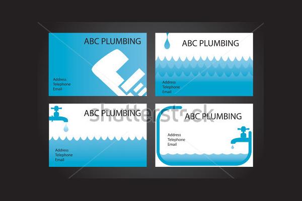 Plumbing Handyman Business Card