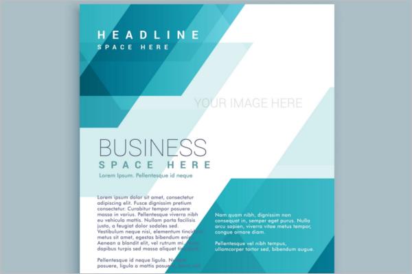 Polygonal shapes corporative Advertising Flyer