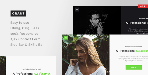 Portfolio Speciality Pages HTML Template