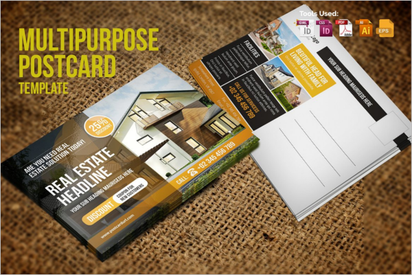 Post Card Design Poster